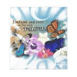 Dreams Note Pad