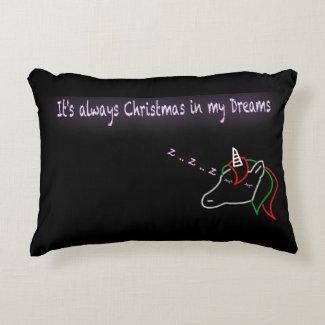 Dreams of Christmas Pillow