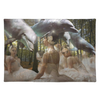 Dreams of dancing with Dolphins & Ballerinas MoJo  Placemat