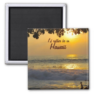 Dreams of Hawaii Refrigerator Magnets