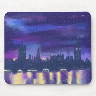 Dreams of London at Night art Mouse pad