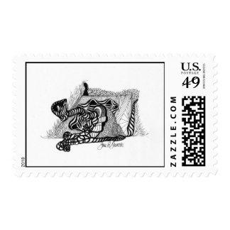 """""""Dreams of Metamorphosis"""" Stamp"""