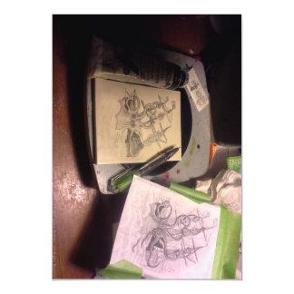 """Dreams of Modern Scrimshaw - Kraken 2"""" Magnet Magnetic Card"""