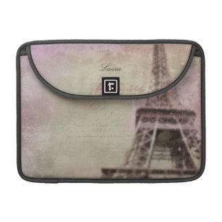 Dreams of Paris Personalized Sleeves For MacBook Pro