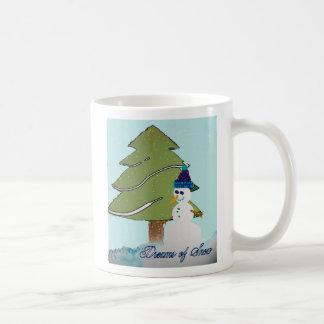 dreams of snow mug