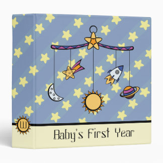 Dreams of Space Mobile 3-Ring Binder