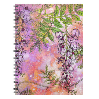 DREAMS OF SPRING ON A CHILL WINTER DAY.jpg Notebook