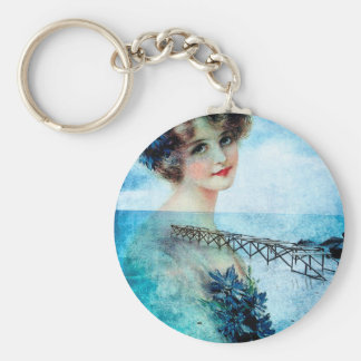 DREAMS OF SUMMER DAYS GONE PAST.jpg Keychain