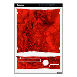 Dreams of the Dead Xbox 360 S Console (2010) skin Xbox 360 S Skin