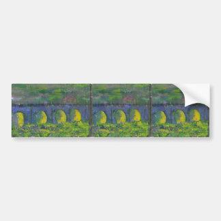 Dreams of Waterloo Bridge Bumper Stickers