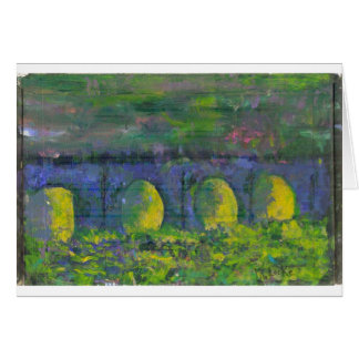 Dreams of Waterloo Bridge Card