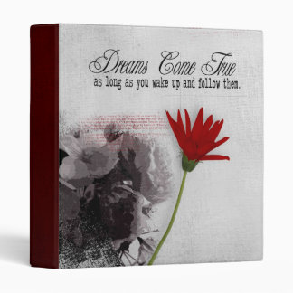dreams photo album 3 ring binder