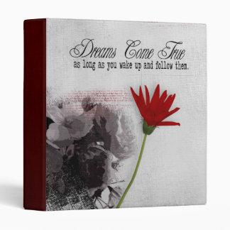 dreams photo album binder