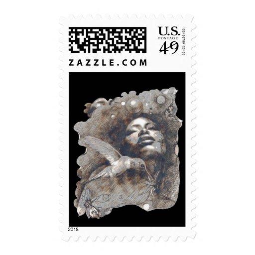 Dreams Postage Stamp