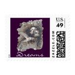 Dreams PostCard Stamp