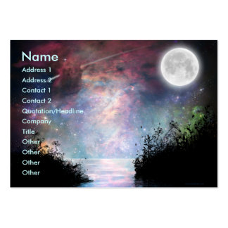 Dreams Print_1 Profile Card Large Business Cards (Pack Of 100)