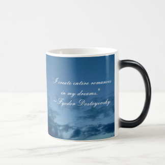 Dreams Quote Morphing Mug