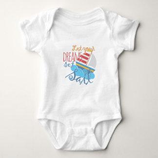 Dreams Sail Baby Bodysuit