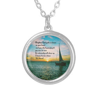 Dreams Silver Plated Necklace