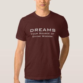 Dreams. Source of Divine Wisdom Shirt