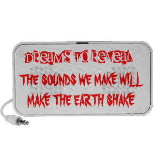 DREAMS TO REVEAL dolby earth shakers Travel Speaker