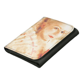 Dreams Weigh Nothing Leather Wallets