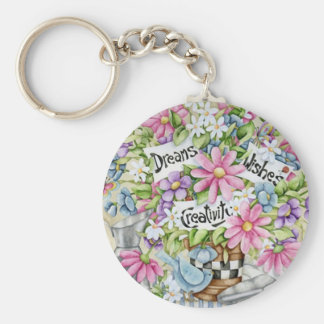 Dreams Wishes and Creativity Keychains