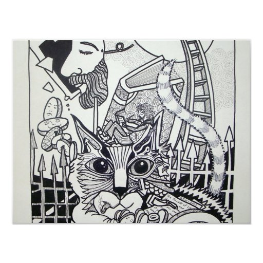 Dreamscape 10-1 by Piliero 4.25x5.5 Paper Invitation Card
