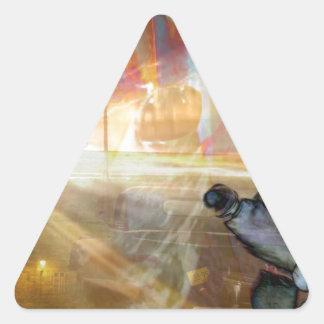 Dreamscape 505.jpg triangle sticker