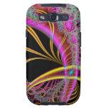 Dreamscape Amarillo-Púrpura Galaxy SIII Protector