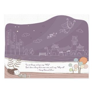 Dreamscape caprichoso 1 postal