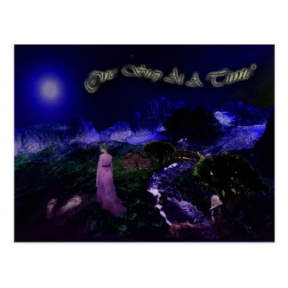 "Dreamscape postal de ""un paso a la vez"""