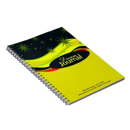 Dreamscapes Journal Custom Notebook