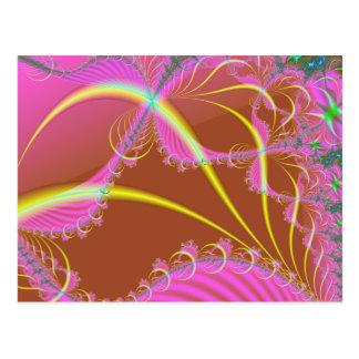Dreamscaping rosado tarjeta postal