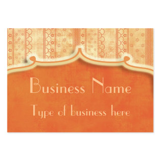 Dreamsicle Notion Business Card