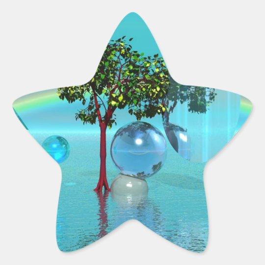 Dreamsphere Pegatina En Forma De Estrella