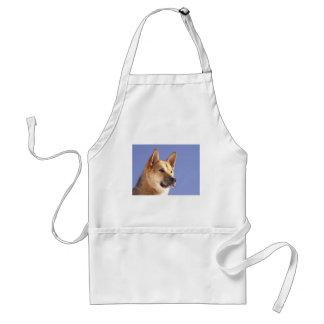 dreamstimefree_3750580-Alert Dog Adult Apron