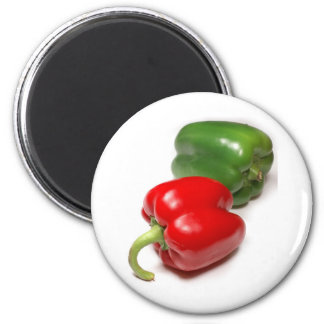 dreamstimefree_3753427-Peppers 2 Inch Round Magnet