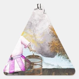 dreamstosell.jpg triangle sticker