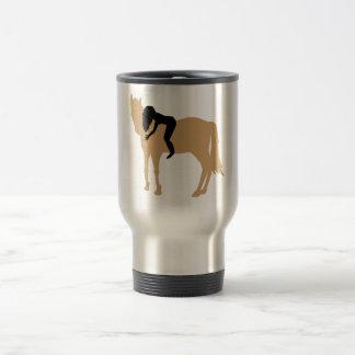 Dreamteam - A girl and her beloved horse Travel Mug