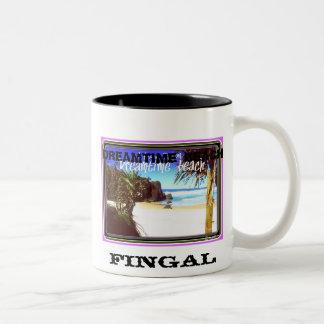 DREAMTIME BEACH Two-Tone COFFEE MUG
