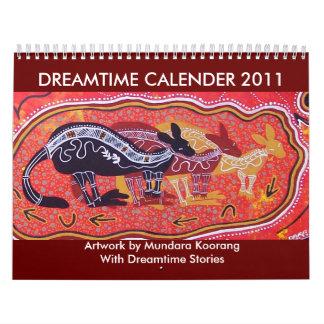 Dreamtime Calender 2011 Wall Calendars