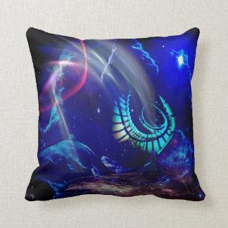 Dreamvision no.17 throw pillow