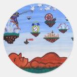 Dreamweaver Classic Round Sticker