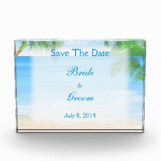 Dreamy Beach Wedding Save The Date Awards