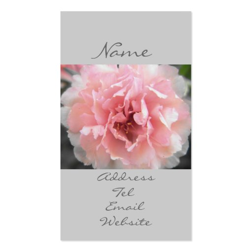 Dreamy Blooms Business Card