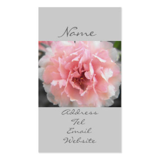 Dreamy Blooms Double-Sided Standard Business Cards (Pack Of 100)