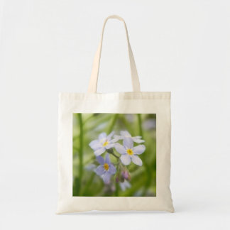 Dreamy Blue Forget Me Nots Tote Bag