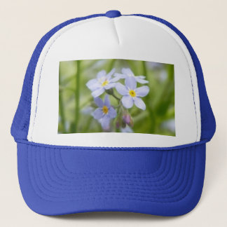 Dreamy Blue Forget Me Nots Trucker Hat