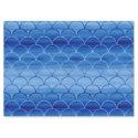 Dreamy Blue Painted Fan Shapes Pattern Tissue Paper (<em>$3.30</em>)